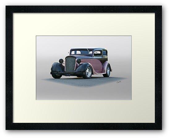 1935 Chevrolet Victoria Sedan by DaveKoontz