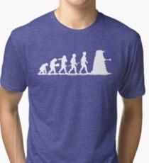Evolution Dalek! Tri-blend T-Shirt