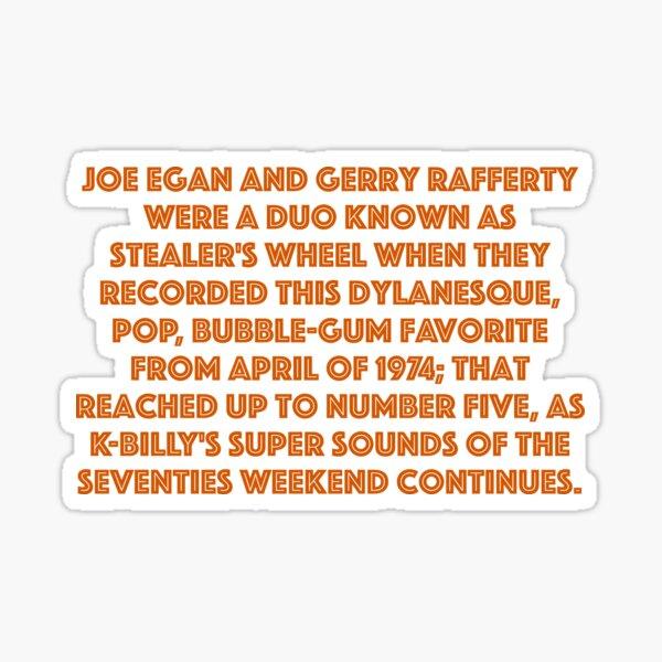 Reservoir Dogs K Billy's Quote Sticker