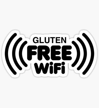 Gluten Free WiFi Sticker