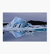 Glacier lagoon Photographic Print