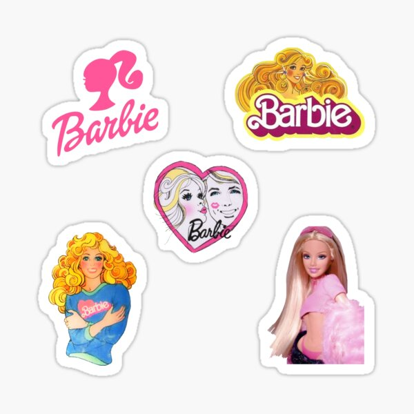 barbie 5-sticker pack <3 Sticker