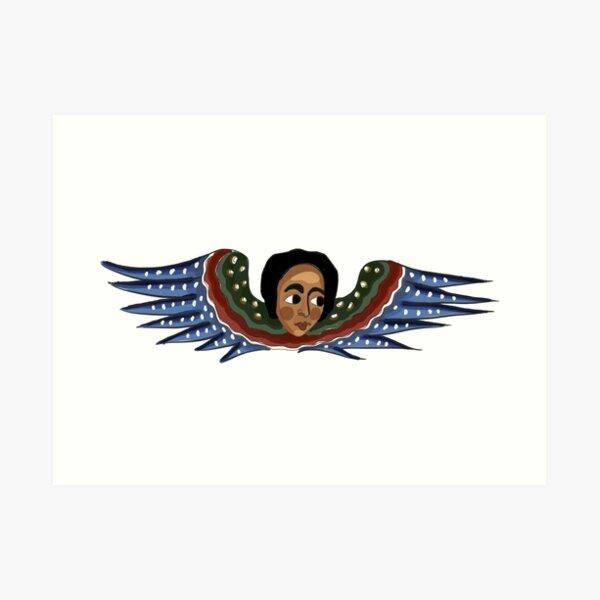 Ethiopian Angel III Art Print
