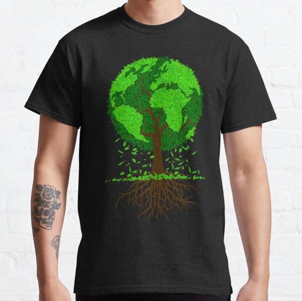 Rette Mutter Erde, Globusbaum Classic T-Shirt