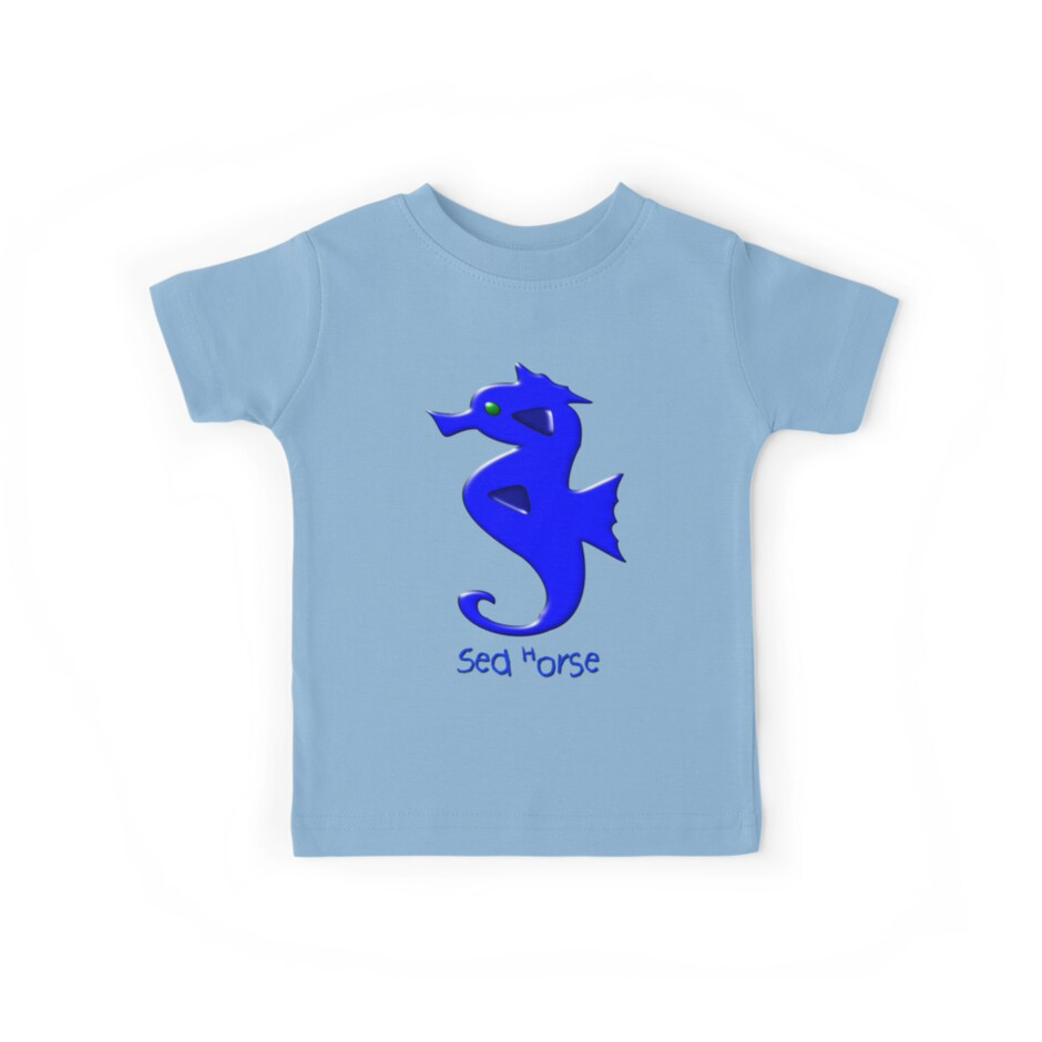 A Sea Horse T-shirt by Dennis Melling