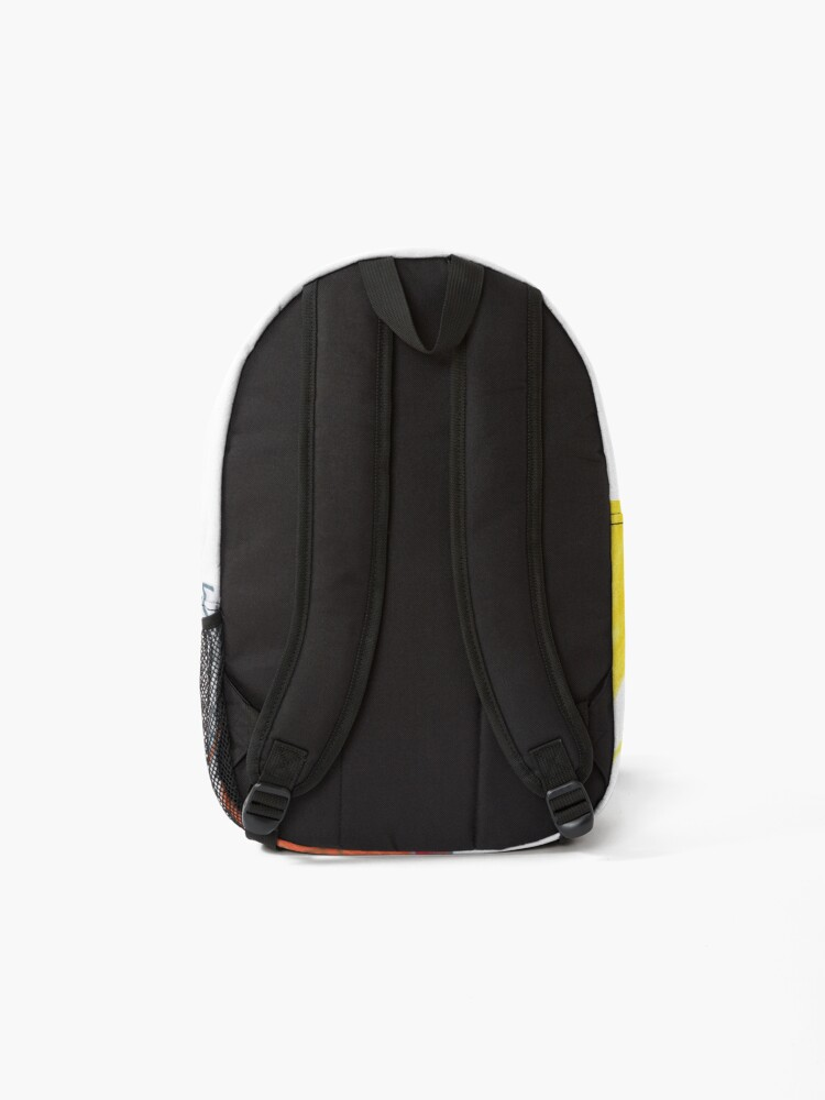 Alternate view of M.I. #20  ☼  Wrecked Window - Pane Pain Backpack