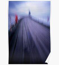 Boardwalk Blur Poster