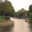 Relaxation along the canal Hythe Kent by Beatrice Cloake