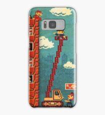 Mario Pixel Art Samsung Galaxy Case/Skin