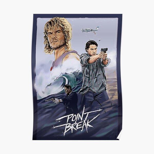 Point Break Movie Poster Poster