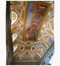 Palace of Caserta room  Poster