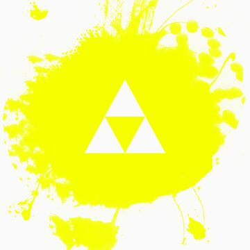 Triforce (Zelda) Grafitti by CoinLoser