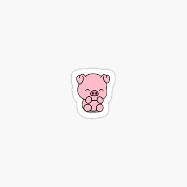 Tiny tiny pig Sticker