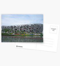 Bird's Nest Stadium Postkarten