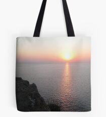 Sunset in Lefkada Tote Bag