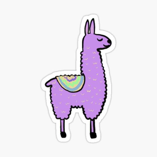 Llama Sticker Sticker