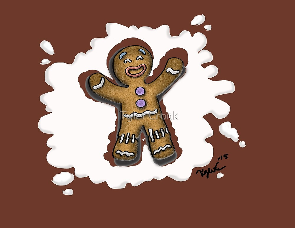 Holiday Gingy by Tyler Cronk