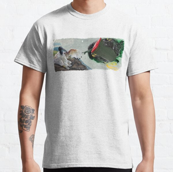 La creación de Bin Chickens Camiseta clásica