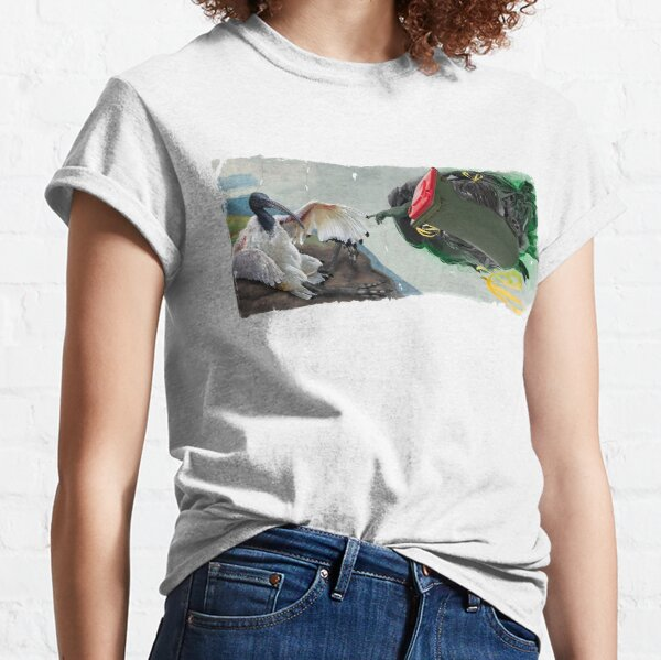 The Creation of Bin Chickens  Classic T-Shirt