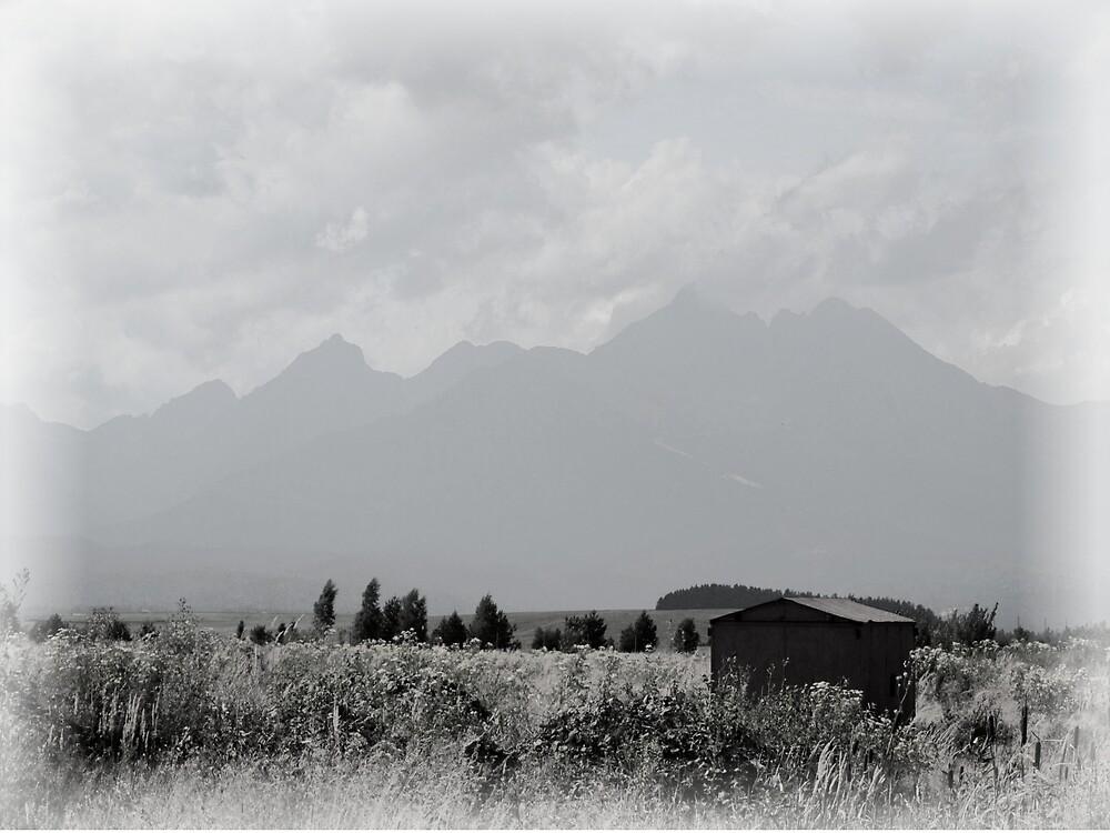 Slovak Mountain Landscape by Lucie Rovná