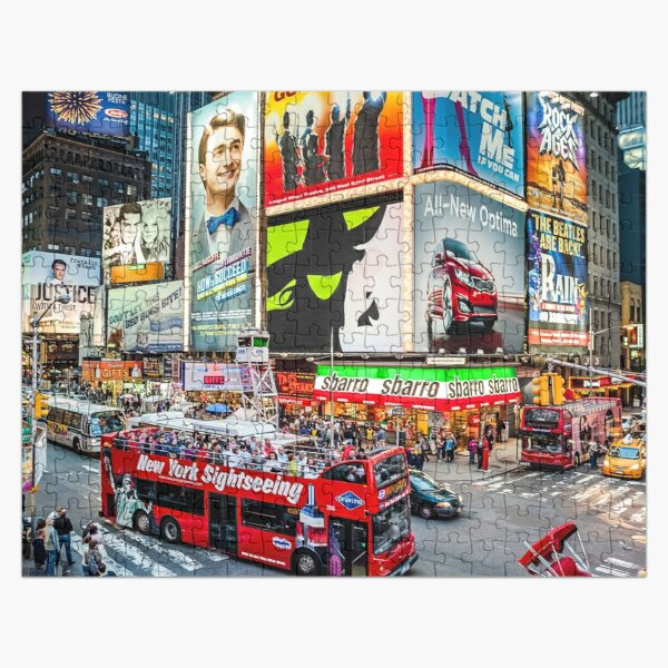 Times Square II Special Edition II Jigsaw Puzzle