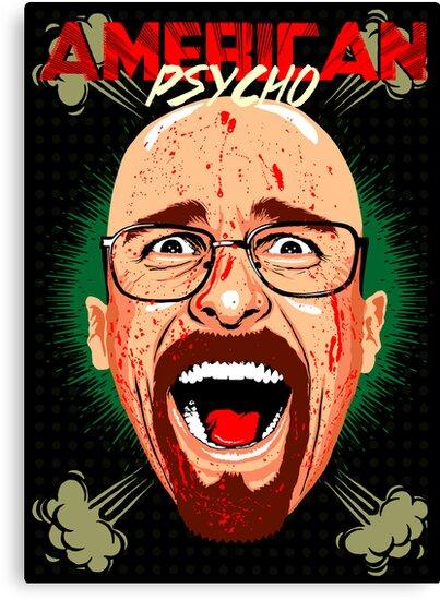American Psycho Heisenberg Edition by butcherbilly