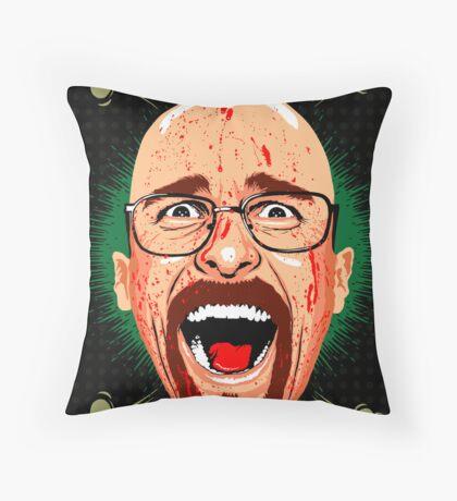 American Psycho Heisenberg Edition Throw Pillow
