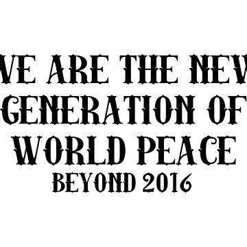 2016 world peace by chugah