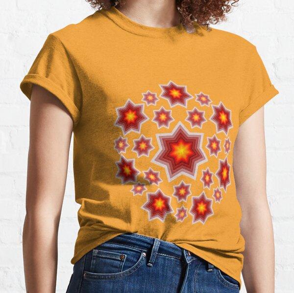 Red shining stars Classic T-Shirt