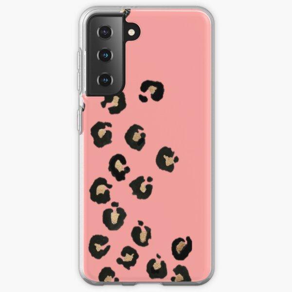 Pink leopeard Samsung Galaxy Soft Case