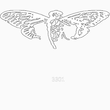 Cicada 3301 everywhere white by 3301