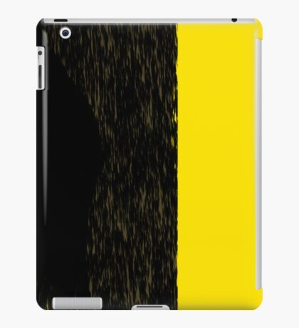 Yellow street iPad Case/Skin