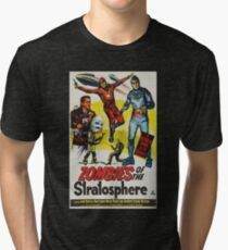 Zombies of the Stratosphere Tri-blend T-Shirt