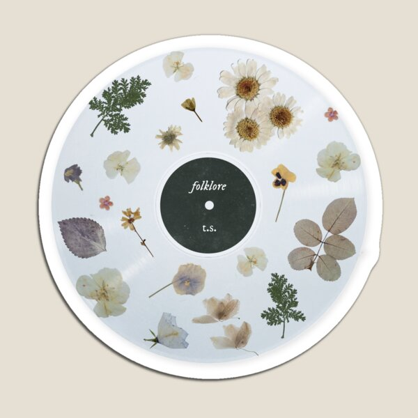 folklore vinyl Magnet