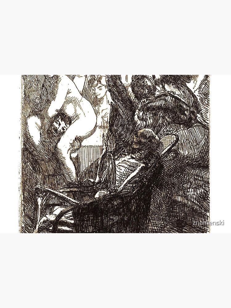 Paul-Albert Besnard French painter, The Orgy (L'orgie), 1900 by znamenski
