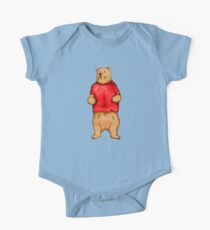 Poo The Bear One Piece - Short Sleeve