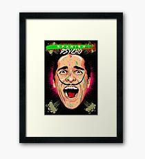American Psycho Spanish Edition Framed Print