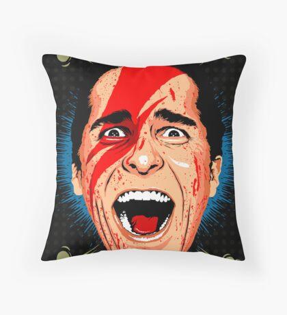 American Psycho British Edition Throw Pillow