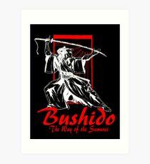 """""""Bushido"""" by Carter L. Shepard Art Print"""