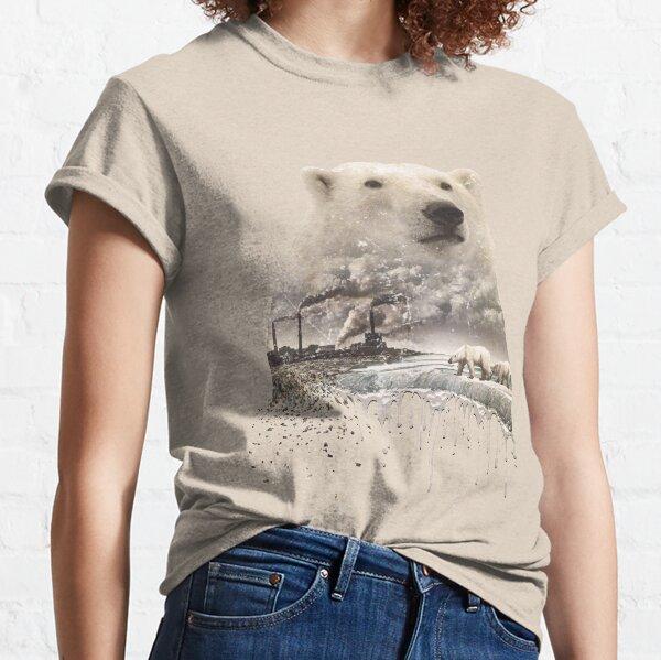 Eisbär, globale Erwärmung, Vintage-Look Classic T-Shirt