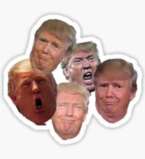 Trumpy Trump Trump Sticker
