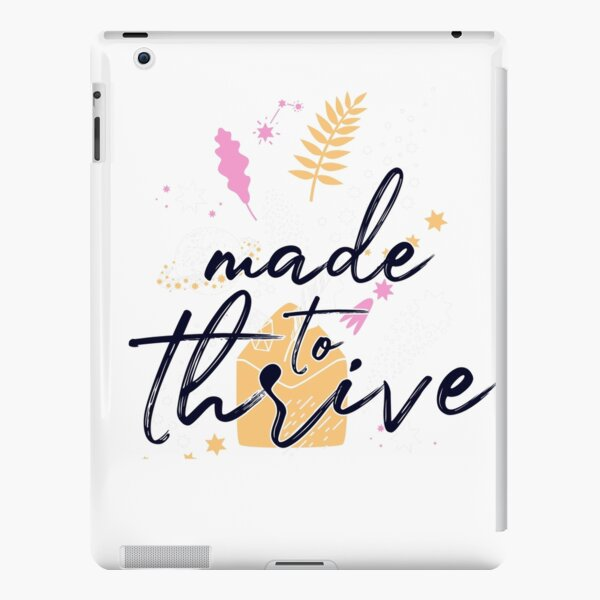 made to thrive iPad Snap Case