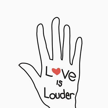Love Is Louder by aripearls