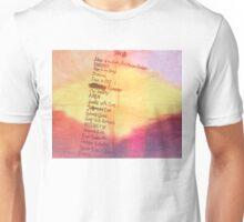 Kid Cudi, Lyric side A Unisex T-Shirt