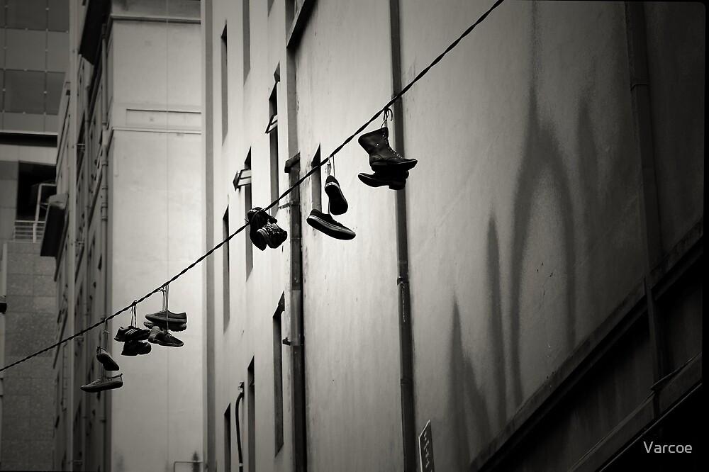 Shoefiti by Jeanette Varcoe.