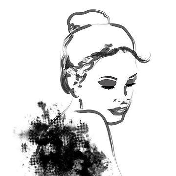 Artsy Girl by aripearls