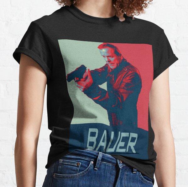 T-shirt Leg Ne Jamais Te Avec Un Métal Bauer à Artisanat Cadeau Amusant sort