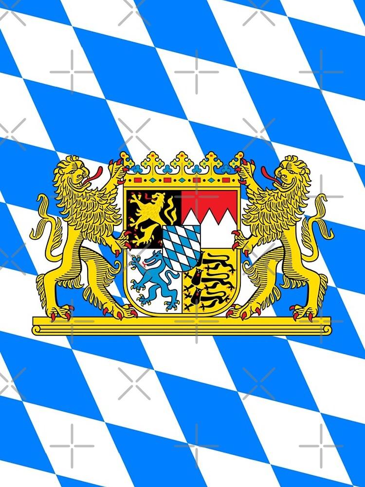 Bayern COA Flagge von stoopiditees
