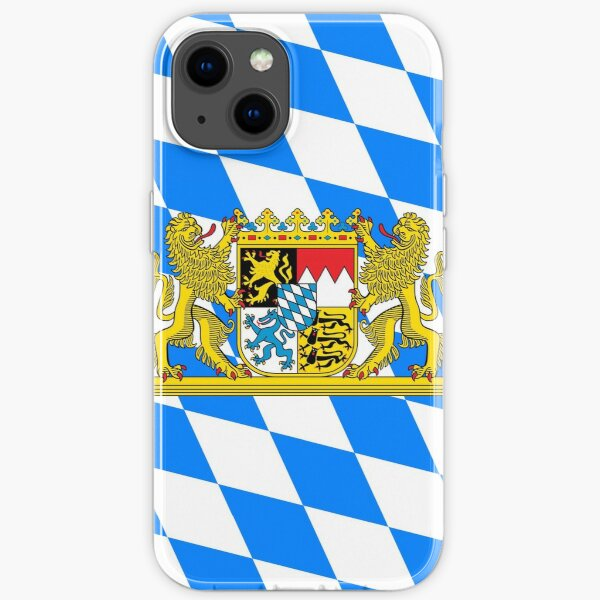 Bayern COA Flagge iPhone Flexible Hülle
