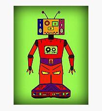 Robot Mix Tape Photographic Print